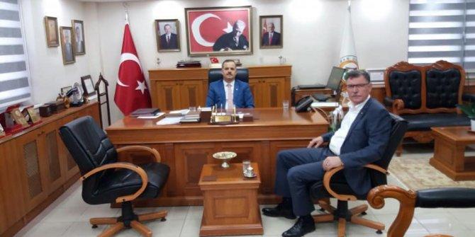 Başkan Duymuş, Bursa Orman Bölge Müdürü Akın ile bir araya geldi