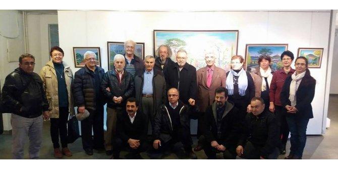 Ressam Halil Kırkıl'ın 7'nci kişisel resim sergisi