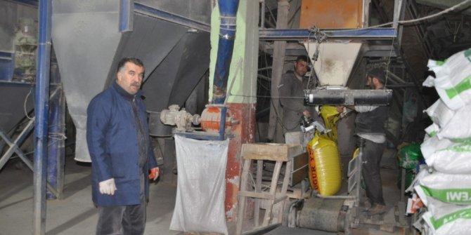 Devlet desteğiyle yem fabrikası kurdu