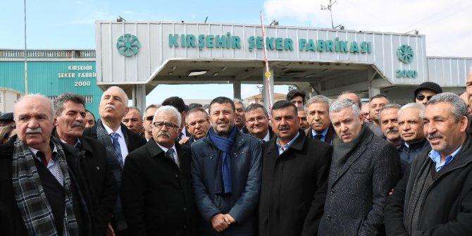 """CHP Genel Başkan Yardımcısı Veli Ağbaba: """"Vatan neyse şeker odur"""""""