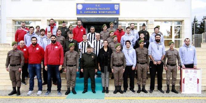 Antalyaspor Basketbol Takımı Jandarma'da