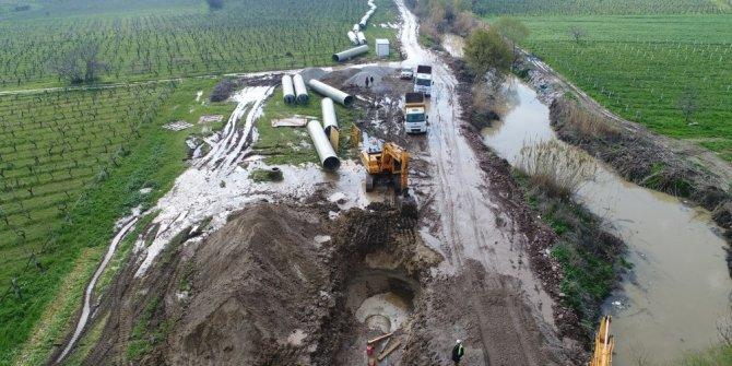 59 milyonluk tesisin deşarj hattı çalışmaları başladı