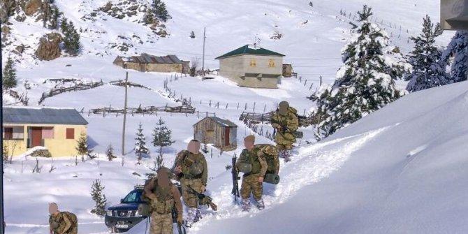 Karadeniz Yaylaları'nda PKK'ya karşı mücadele devam ediyor