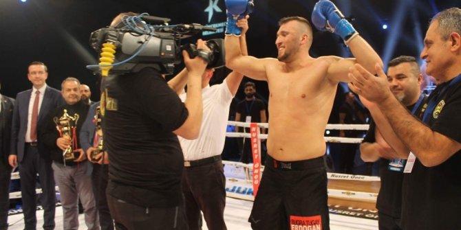 """Milli sporcu Erdoğan: """"Amacım Muay Thai ve Kick Boks'ta Dünya Şampiyonu olmak"""""""