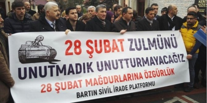 28 Şubat Mağdurları haklarını arıyor!