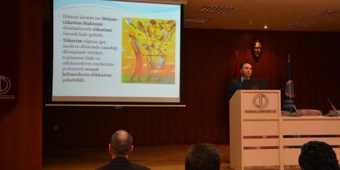 'Tüketim Kültürü ve İhtiyaçların Yabancılaşması' konferansı