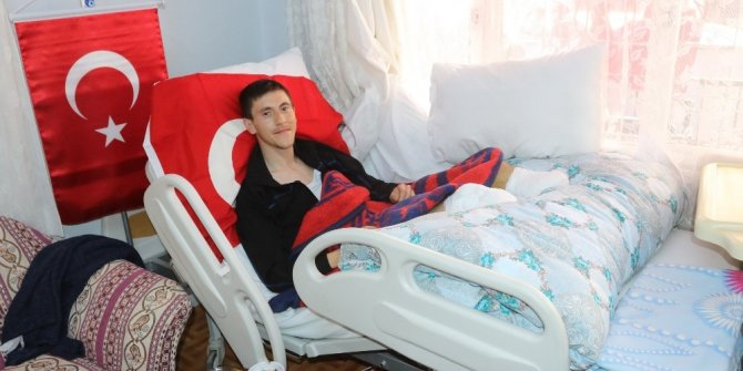 Afrin gazisi ayaklarını kaybettiği günü anlattı