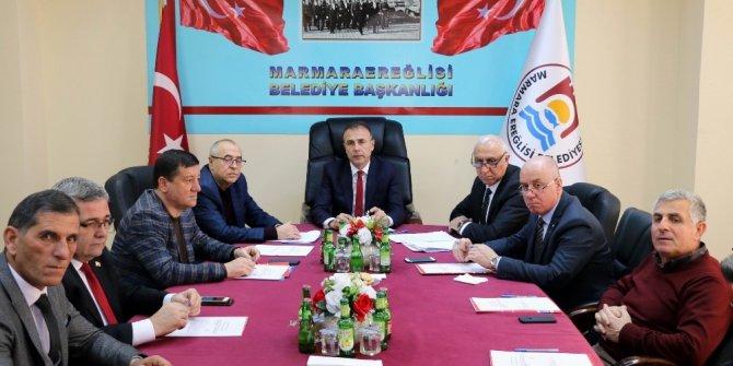 Marmaraereğlisi Belediyesi Mart ayı meclis toplantısı yapıldı