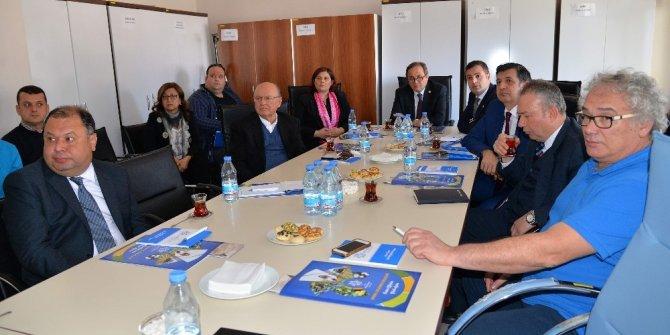 CHP Genel Merkezi'nden Başkan Çerçioğlu'na ziyaret