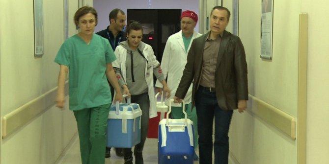 Samsun'da yaşlı adamın organları umut oldu