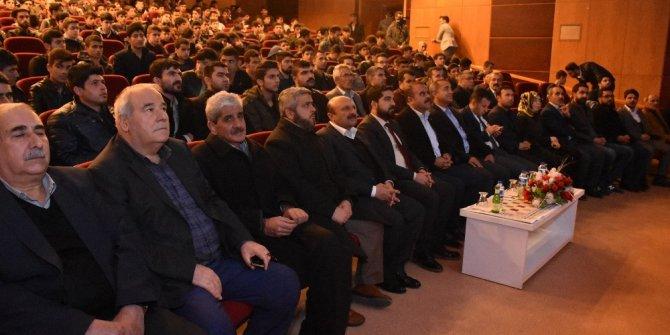 Kahta'da 'Teröre Hep Birlikte Dur Diyelim' Konferansı