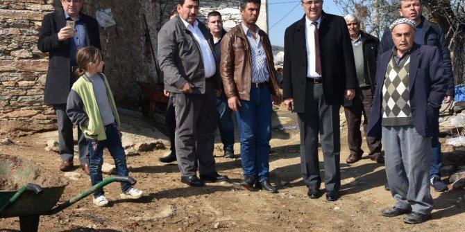Başkan Karaçoban Belenyaka ve Ilıca mahallelerini ziyaret etti