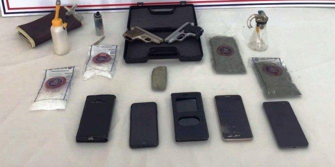 Aydın merkezli 3 ilde yapılan uyuşturucu operasyonunda 4 tutuklama