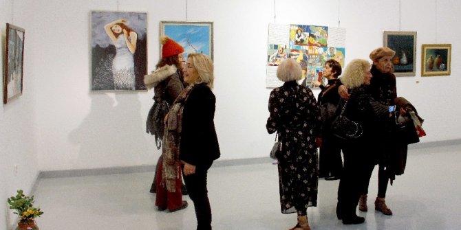 Kadın ressamların eserleri ÇŞM'de