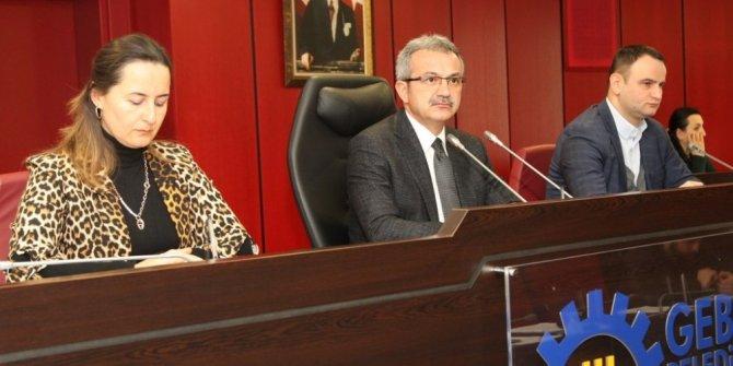 Gebze Belediyesi Mart ayı meclisi gerçekleşti