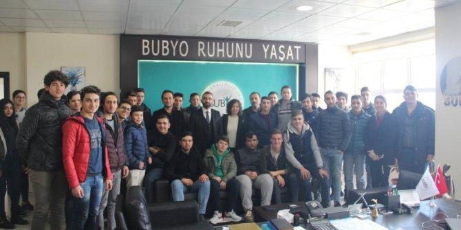 Burhaniye'de Lise Öğrencileri Üniversite ziyareti yaptı