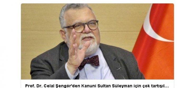 Profesör Celal Şengör'e sosyal medyadan büyük tepki yağdı