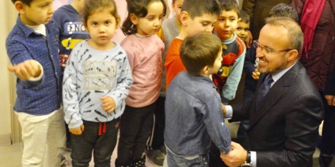 """Turan: """"Eğitim alanında tarihin en büyük yatırımına imza atıyoruz"""""""