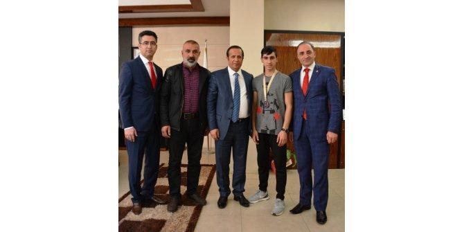 Başkan Toltar, Türkiye üçüncüsünü ağırladı