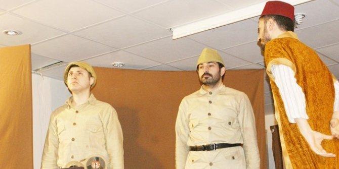 Çermik'te Kut'ül Amare tiyatro oyunu sahnelendi