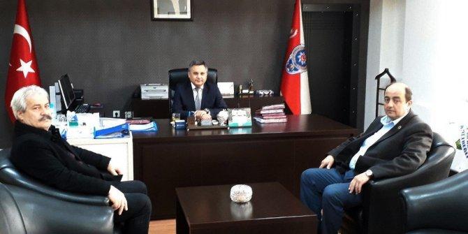 Başkan Demirtaş, Emniyet Müdürü Kuyu'yu ziyaret etti