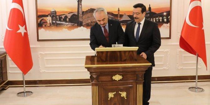 İçişleri Bakan Yardımcısından Başkan Atilla'ya ziyaret