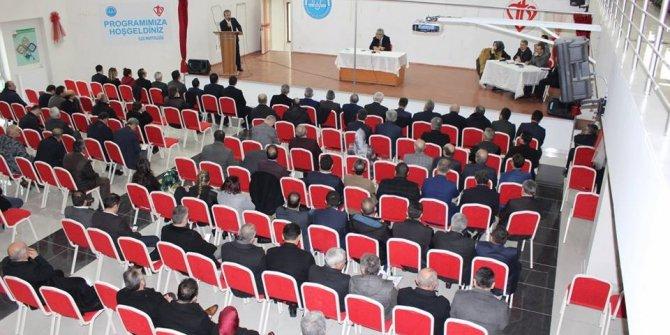 Fatsa'da vatandaşlarla buluşma toplantısı