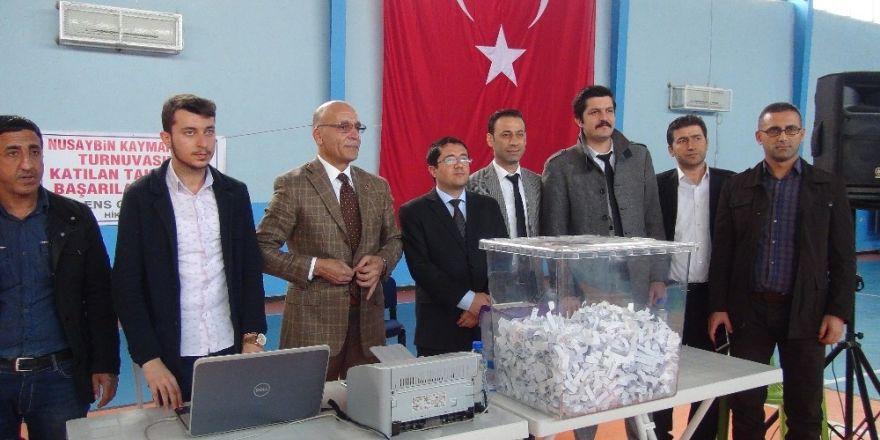 Nusaybin'de geçici işçi alımı için kura çekimi yapıldı