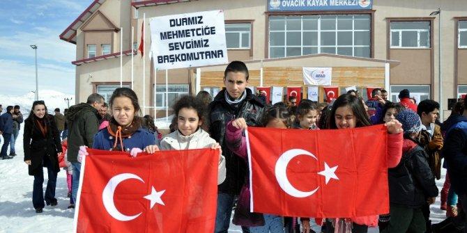 """Ovacıklı çocuklar: """"Dualarımız Afrin'e sevgimiz başkomutana"""""""
