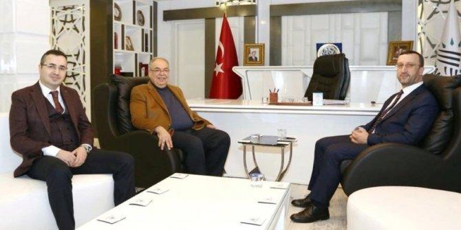 Başkan Kutlu İLBANK Genel Müdürü Büyük'ü ağırladı