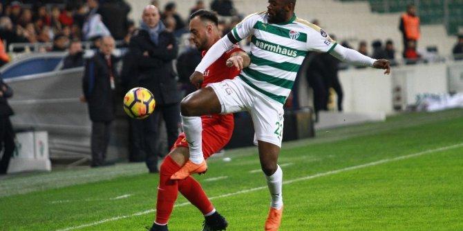 Spor Toto Süper Lig: Bursaspor: 0 - Kayserispor: 0 (Maç devam ediyor)