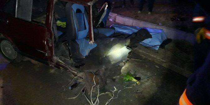Malatya'da iki araç çarpıştı: 2 ölü 4 yaralı