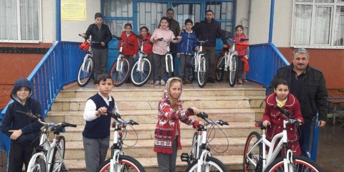 İzmit'te bisiklet coşkusu köylerden başladı