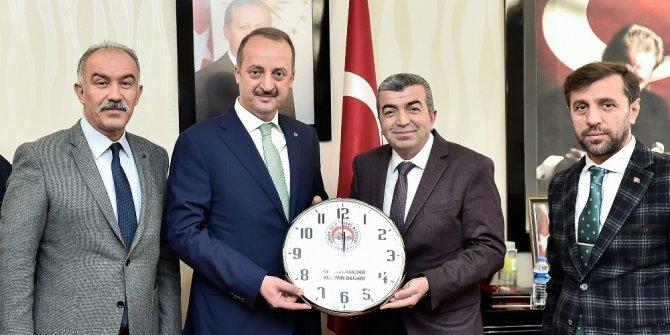 Sinoplular Akgül'ü ziyaret etti