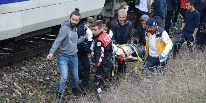 Doğu Ekspresi'nin çarptığı öğrenci ağır yaralandı