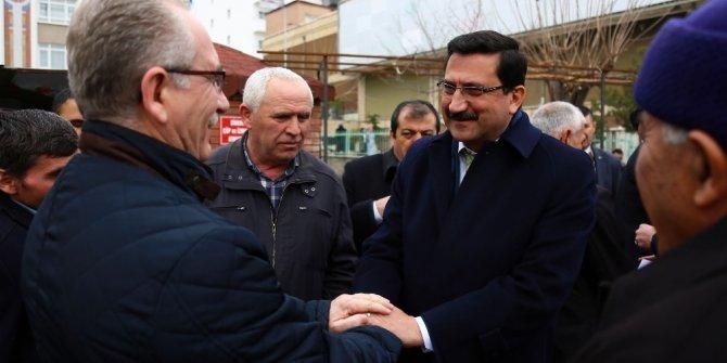 Belediye Başkanı Ak, mahalle sakinleriyle bir araya geldi