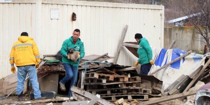 Alacaatlı'daki istifçilik el birliğiyle yok edildi