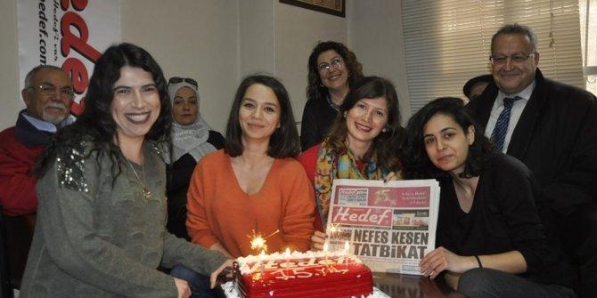 Hedef Gazetesi 15 yaşına girdi