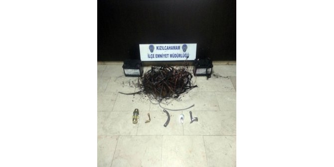 Başkent'te hırsızlık operasyonu: 2 tutuklama