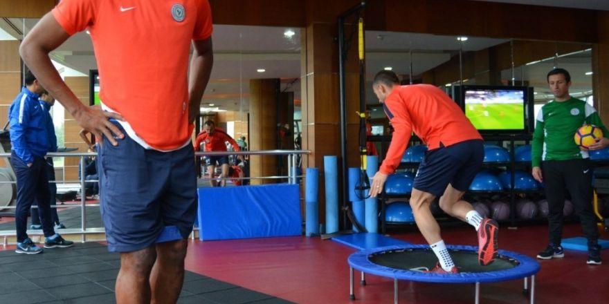 Çaykur Rizespor'da Gençlerbirliği maçı hazırlıkları başladı