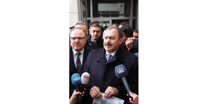 Bakan Eroğlu, yağış azlığını değerlendirdi;