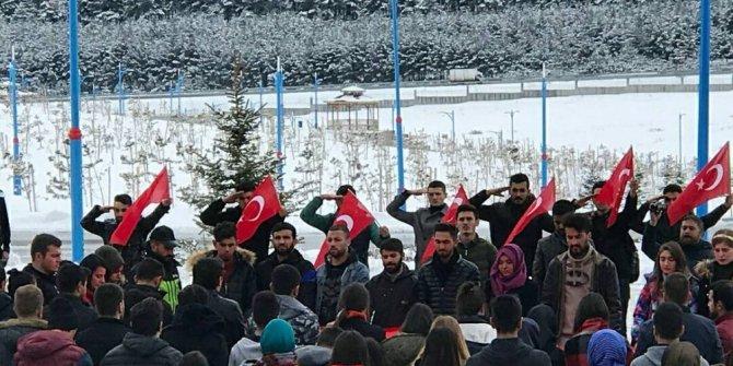 ARÜ'lü öğrenciler Afrin şehitlerini andı