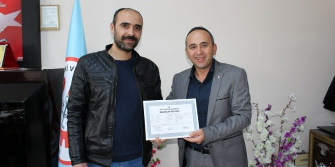 Besni'de 113 esnaf belge sahibi oldu