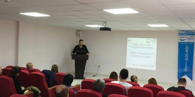 Biga'da yabancı dil olarak Türkçe öğretimi eğitimi