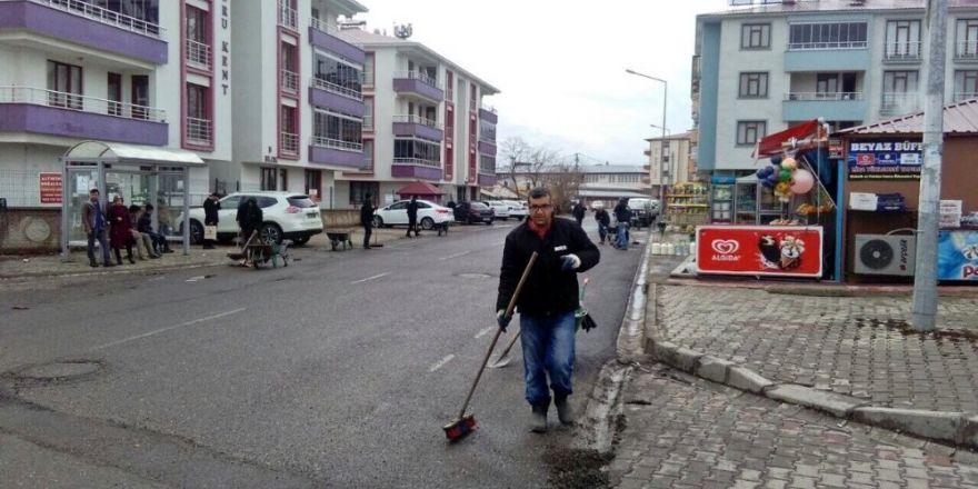 Bingöl'de bahar temizliğine başladı