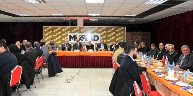 MÜSİAD 'Dost Meclisi'nin konuğu Çalık oldu