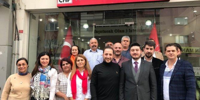 MAGİAD'tan CHP'li Bozyaka'ya 'hayırlı olsun' ziyareti