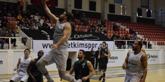 Türkiye Basketbol 1. Ligi: Petkim Spor: 88 - Düzce Belediye: 74