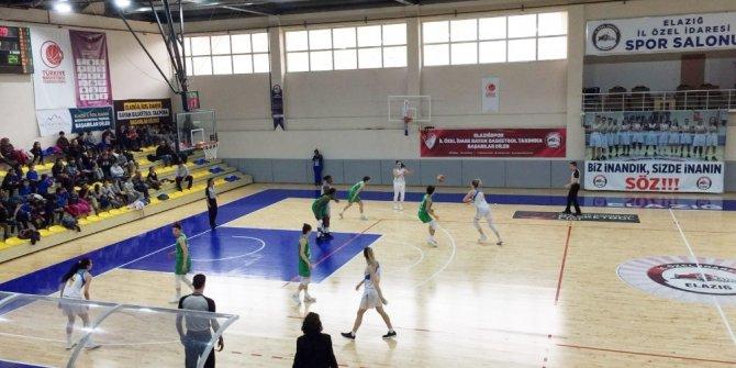 Kadınlar Basketbol Ligi: Elazığ İl Özel İdare: 69 - Bursa BŞB. Budo: 60