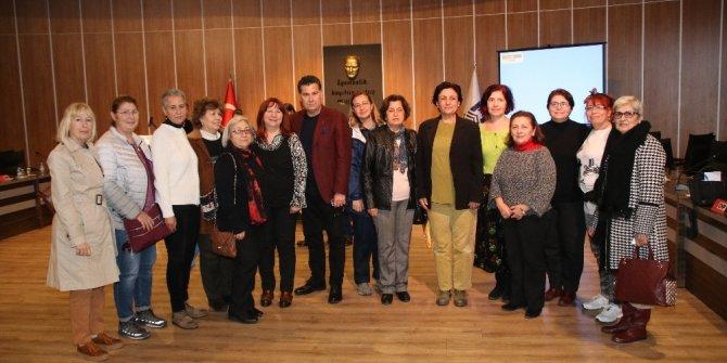 Bodrumlu kadınların yeni iş istihdamına Başkan Kocadon'dan destek